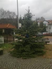 ortsgemeinde breitenbach 2013 der falsche weihnachtsbaum. Black Bedroom Furniture Sets. Home Design Ideas
